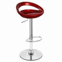 Chaise de Bar ABS Chrome - Crescent