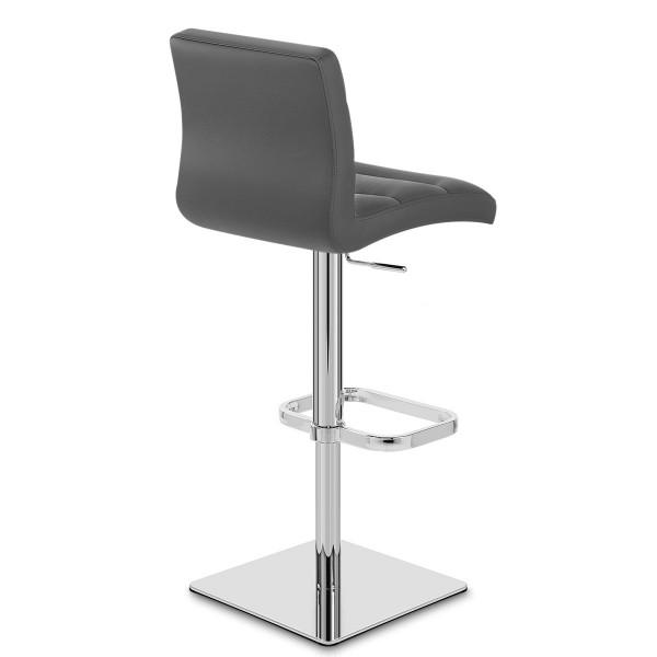 Chaise de Bar Cuir Chrome - Lush
