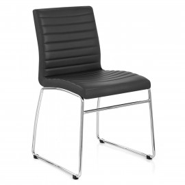 Chaise Faux Cuir Chrome - Panache