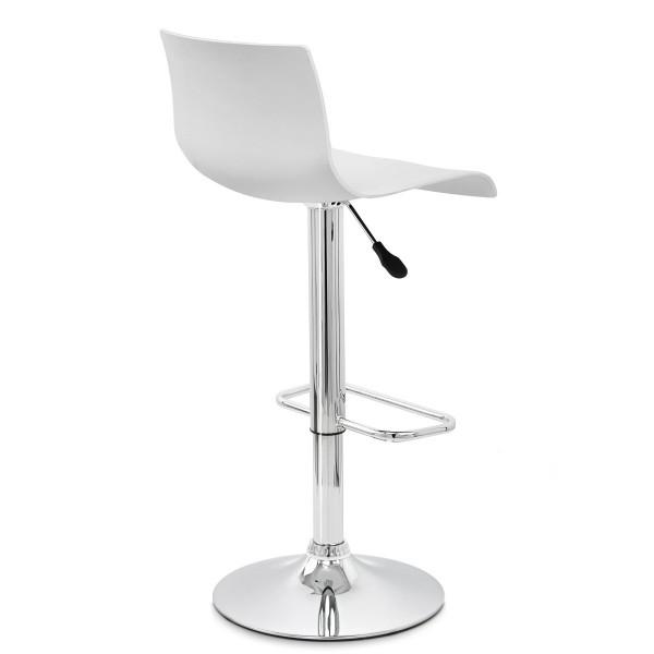 Chaise de Bar ABS Chrome - Serena