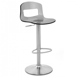 Chaise de Bar Plastique Chrome Brossé - Stardust