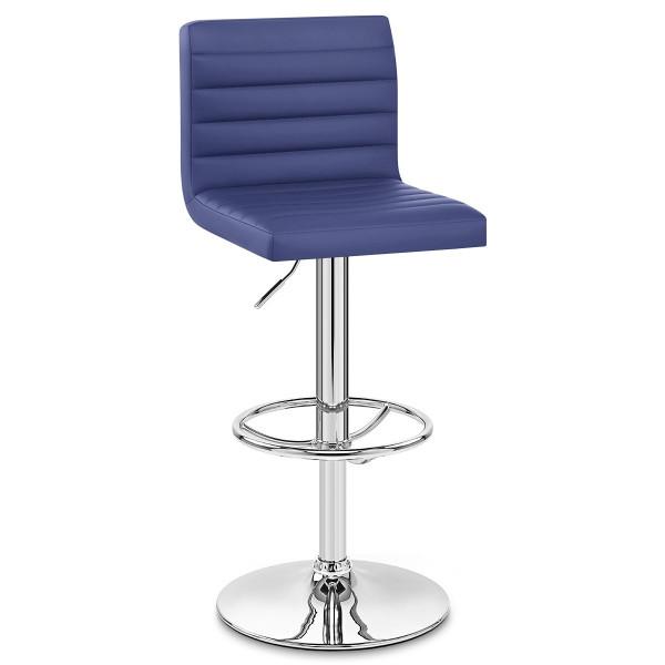 Chaise de Bar Faux Cuir Chrome - Mint