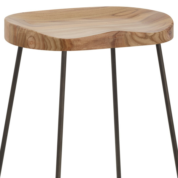 Bloc Stool Light Wood