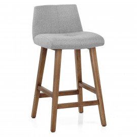 Chaise de Bar Bois Tissu - Impulse