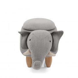 Tabouret de Rangement Enfant - Eléphant