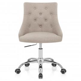 Chaise de Bureau Tissu - Sofia