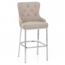 Chaise de Bar Tissu Métal - Grange