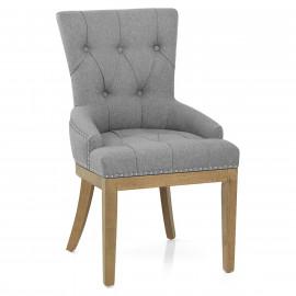 Chaise Chêne Tissu - Knightsbridge
