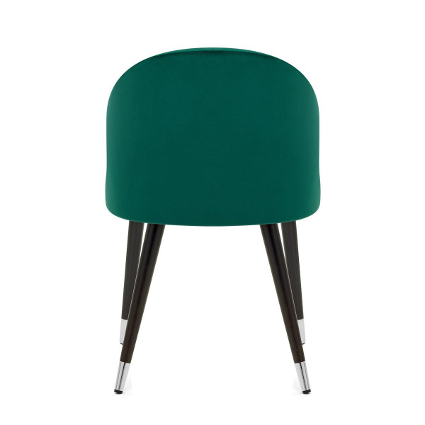 Chaise Bois Velours - Polo Vert