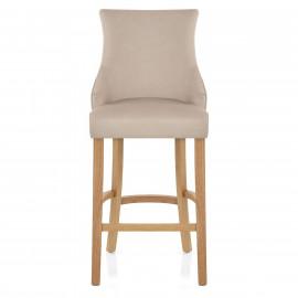 Chaise de Bar Tissu Chêne - Richmond