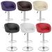 Chaise de Bar Faux Cuir Chrome - Eclipse