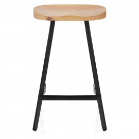Tabouret de Bar Bois - Mulberry
