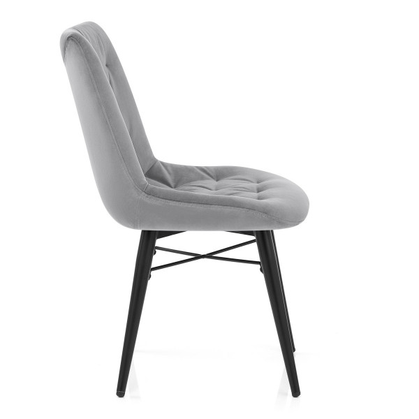 Chaise Métal Velours - Roxy