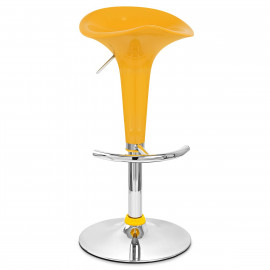 Chaise de Bar ABS Chrome - Gloss Coco