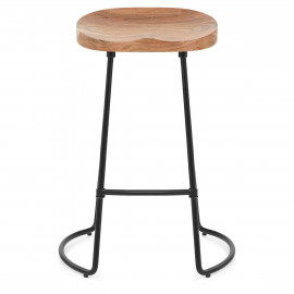 Tabouret de Bar Bois - Foundry