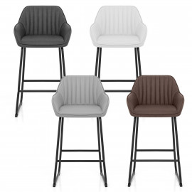 Chaise de Bar Faux Cuir - Kanto