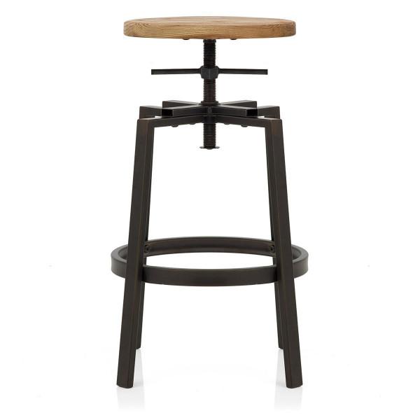 Tabouret de Bar Bois Clair - Industrial Turner
