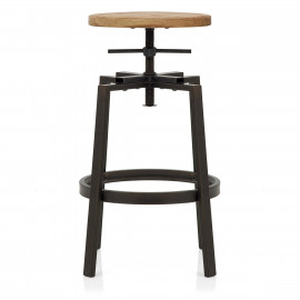 Tabouret de Bar Bois Clair - Industrial Turner