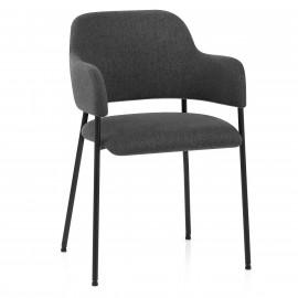 Chaise Metal Tissu - Trent